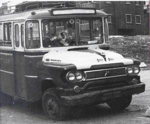 Le fameux bus dans lequel se déplaçaient les Palestiniens traversant le quartier d'Ein Remmaneh