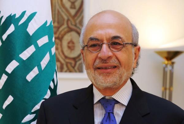 Le Ministre de l'Agriculture à l'origine du Plan, Akram Chéhayeb. Crédit Photo NNA