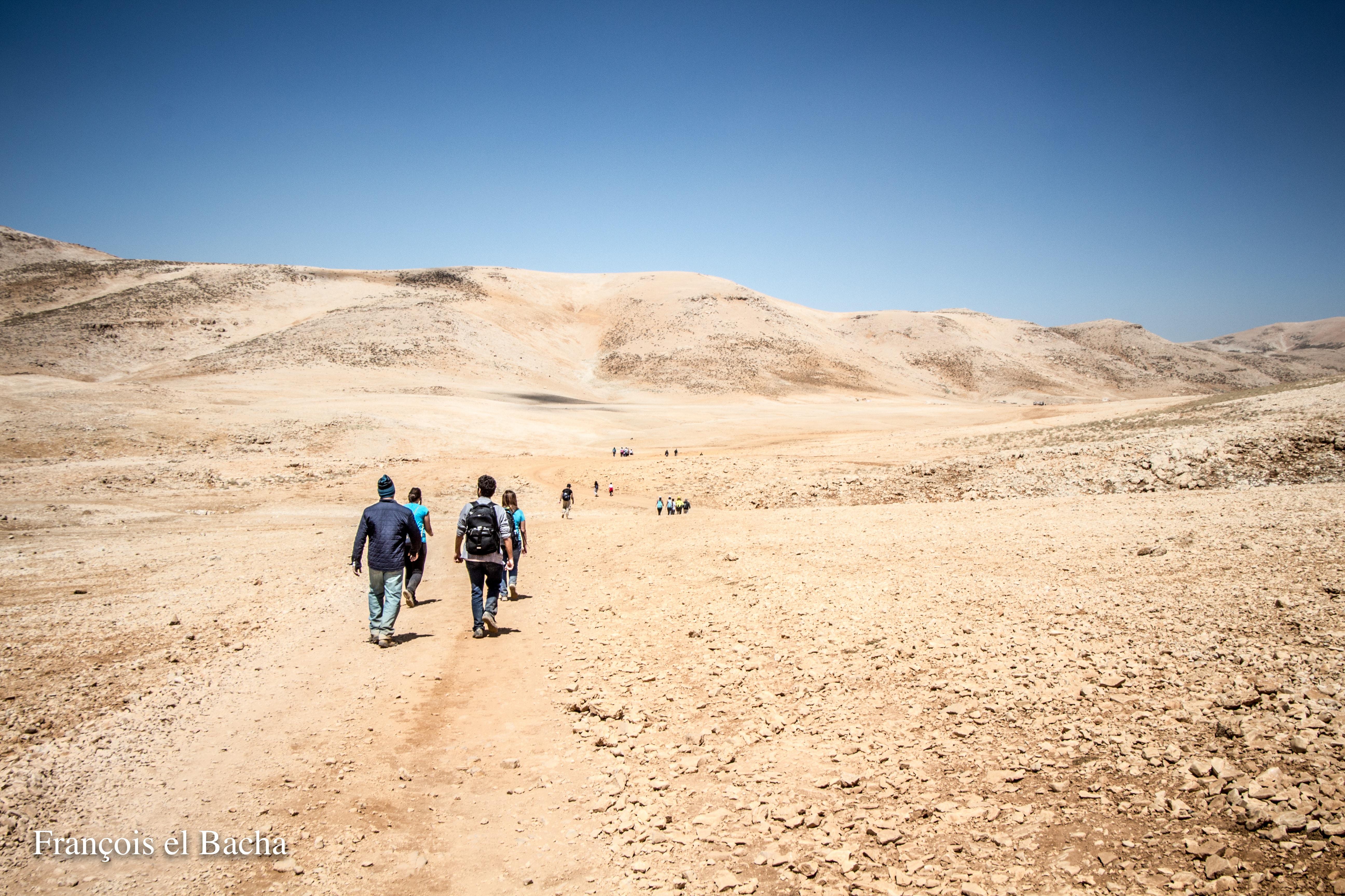 Le sentier menant au sommet de Kornet Saouda. Crédit photo: François el Bacha, tous droits réservés. Visitez mon blog http://larabio.com