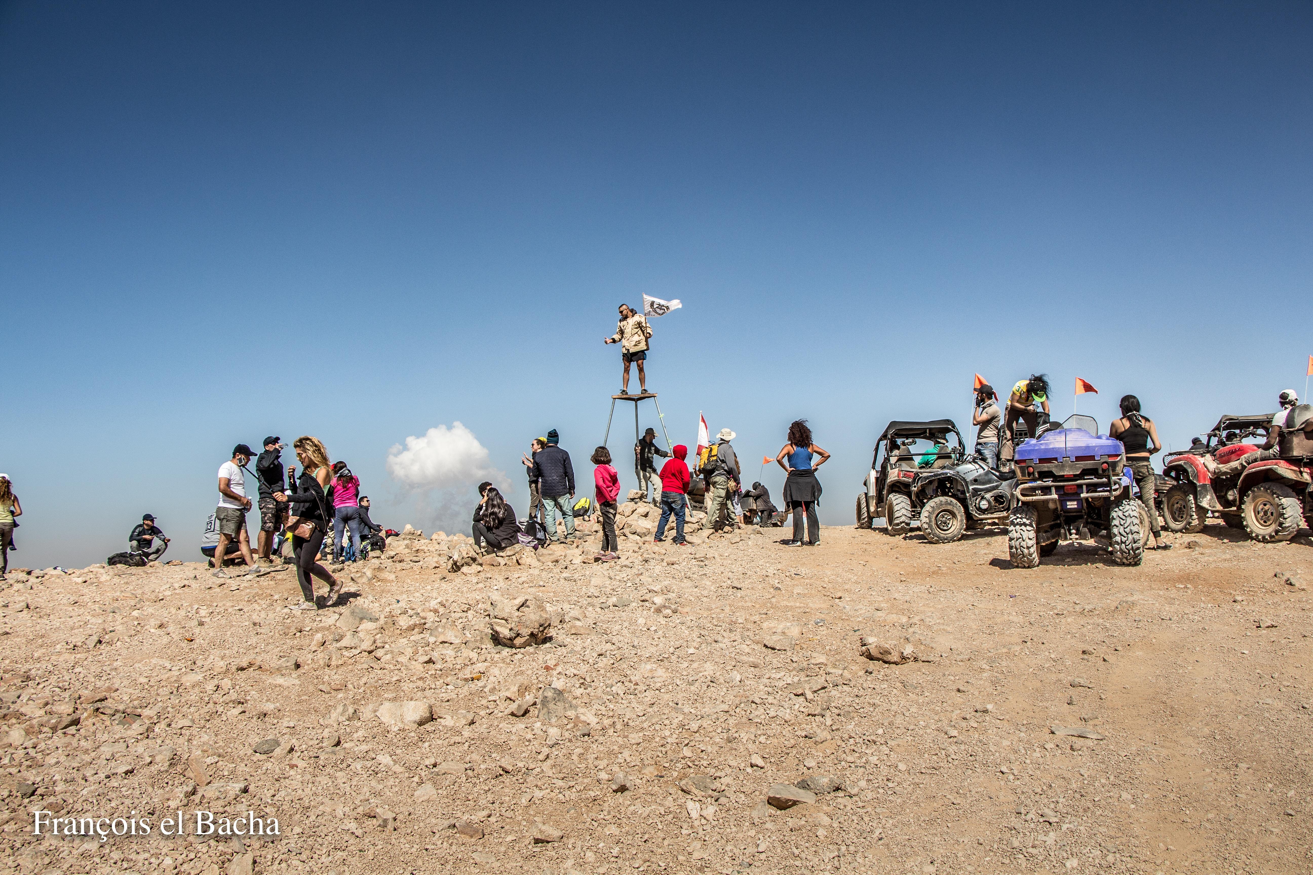 Le sommet de Kornet Saouda. Crédit Photo: François el Bacha, tous droits réservés.