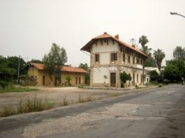 L'ancienne gare ferroviaire de Beyrouth. Source Photo: WIkipedia