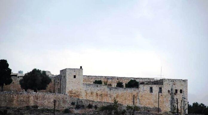 La forteresse Barbar Agha au Nord Liban. Crédit Photo: ANI