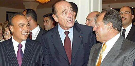 Jacques Chirac au Liban en 2000