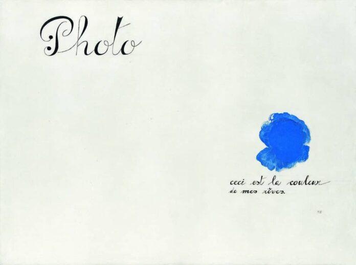 Photo : Joan Miró ,Ceci est la couleur de mes rêves, 1925