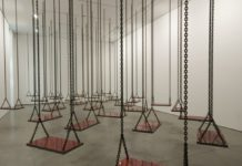 Photo : Installation de Mona Hatoum, 2009-2011