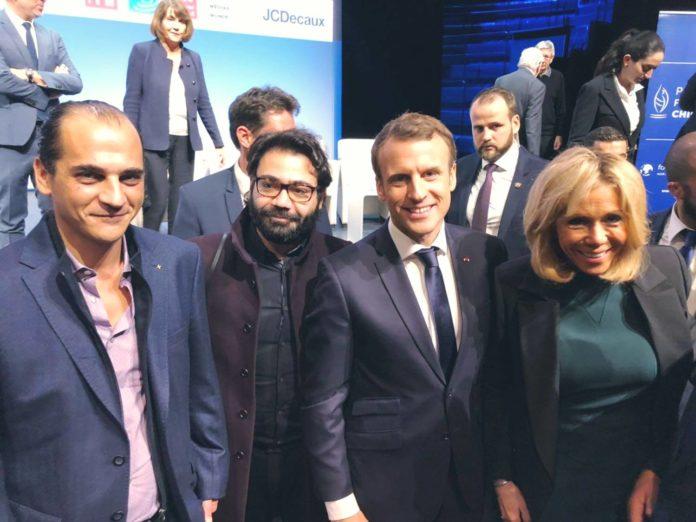 Macron Prix Chirac pour la Paix