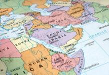 carte Moyen Orient