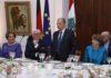 Le Président Aoun avec son homologue allemand, Frank Walter Steinmeier. Crédit Photo: Dalati & Nohra