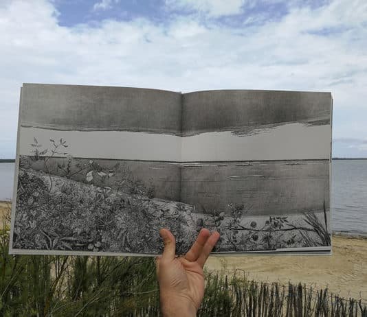 """Photo: Anwar Azzi, 2017 Illustration prise du livre """"Sama"""", Dar Onboz"""