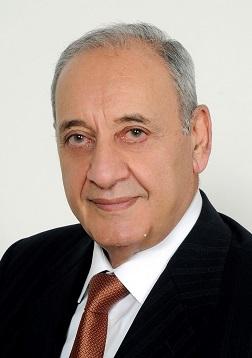 Le Président de la Chambre, Nabih Berry