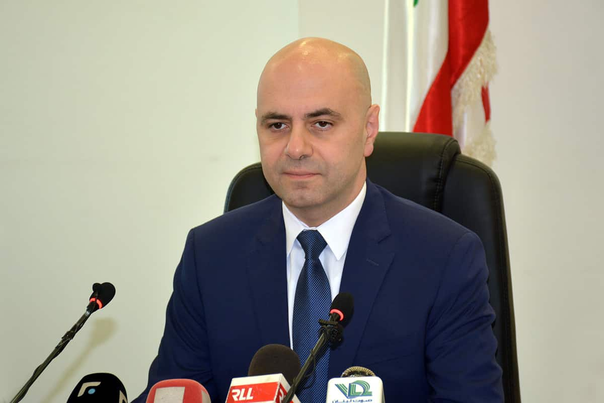 Le Ministre de la Santé, Ghassan Hasbani. Crédit photo: Dalati & Nohra