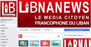 Notre Page Facebook Que Vous Pouvez Retrouver Via @Libnanews.com