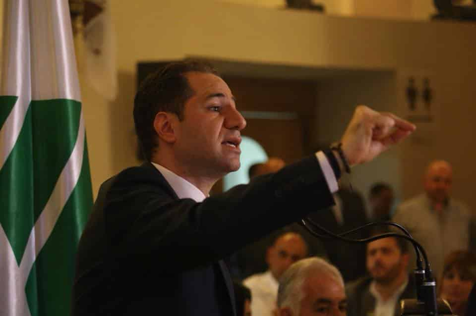 Samy Gemayel. Source Facebook