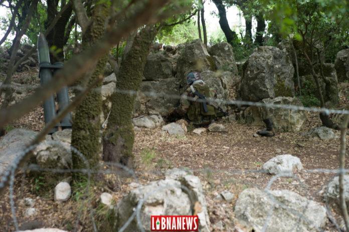 Des mannequins représentant des combattants du Hezbollah. Musée de Mlita, Sud Liban. Crédit Photo: Libnanews.com