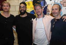Rob Tucker, Jonni Cheatwood, George Morton Clark, et Jean-Philippe Duboscq