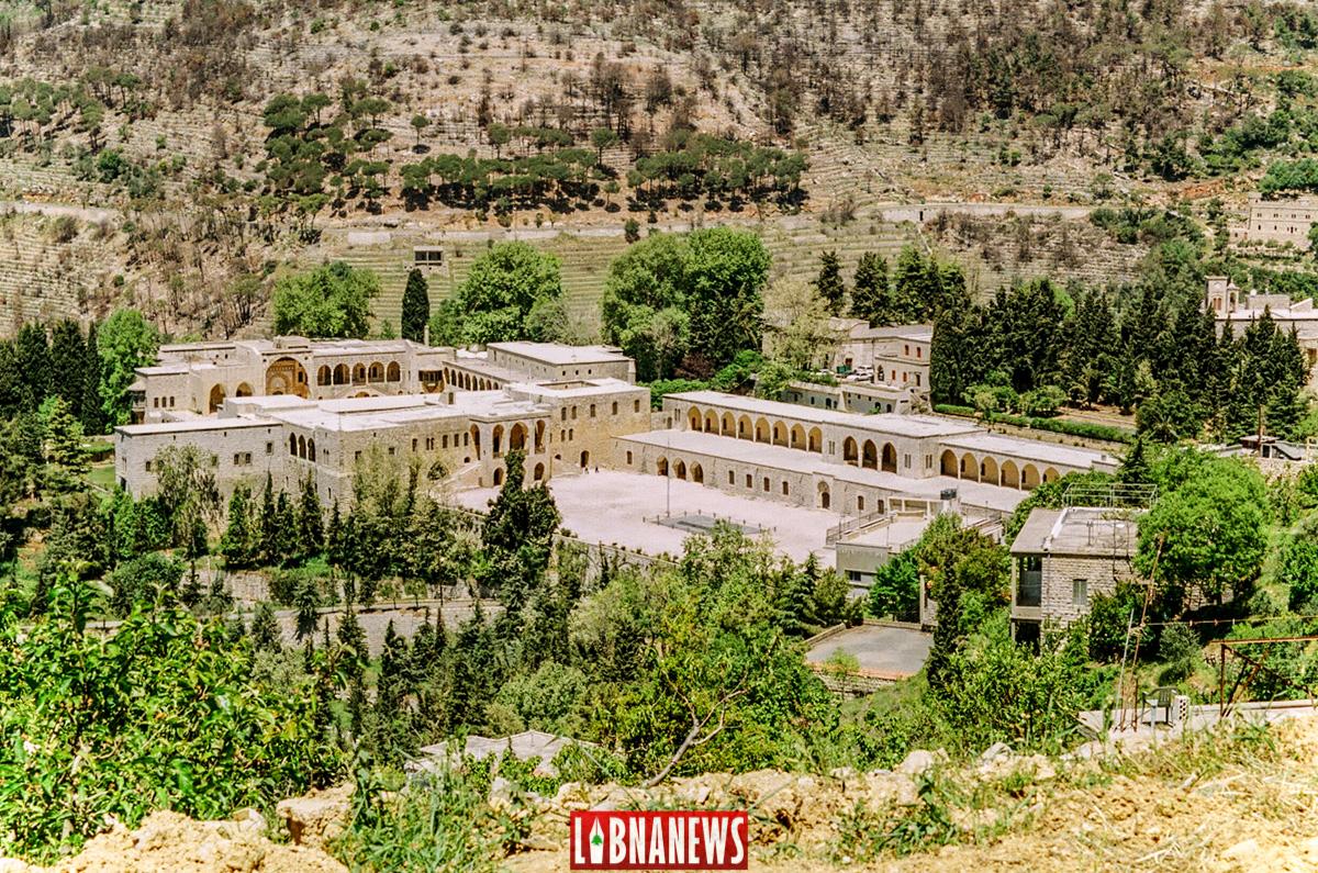 Vue générale du Palais de Beiteddine. Crédit Photo: François el Bacha pour Libnanews.com. Tous droits réservés.