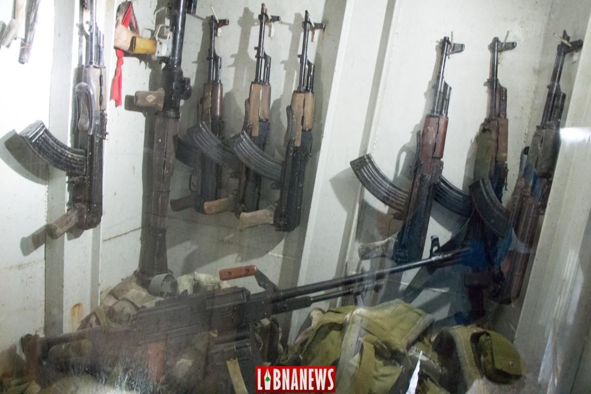 Intérieur du Bunker de Mlita, place forte du Hezbollah devenu un musée. Crédit Photo: Libnanews.com