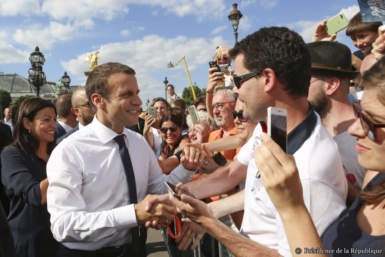 JOURNÉE INTERNATIONALE OLYMPIQUE – VILLE DE PARIS. © Présidence de la République - G.Mariette