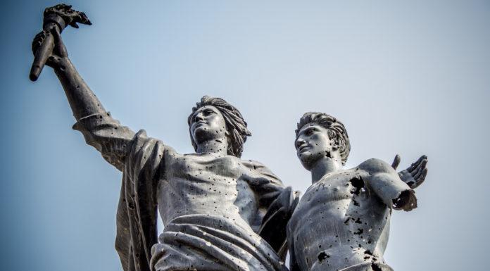 La Statue de la Place des Martyrs, Beyrouth, Liban. Crédit Photo: François el Bacha pour Libnanews.com