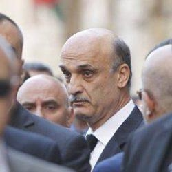Le dirigeant du FL Samir Geagea.