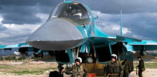 Des chasseurs bombardiers russes en Syrie. Source Image: Wikipedia.org
