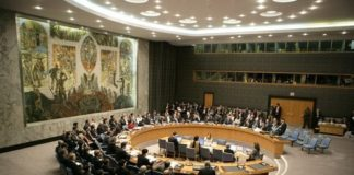 Le Conseil de Sécurité de l'ONU. Source image: Wikipedia