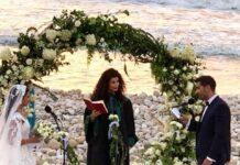 Mariage civil non officiel organisé à Tyr au Sud Liban. Source Photo Facebook