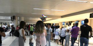 Le hall d'arrivée de l'Aéroport International de Beyrouth. Crédit Photo: François el Bacha pour Libnanews.com. Tous droits réservés.