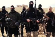 Capture d'écran d'une vidéo de propagande de Daesh.