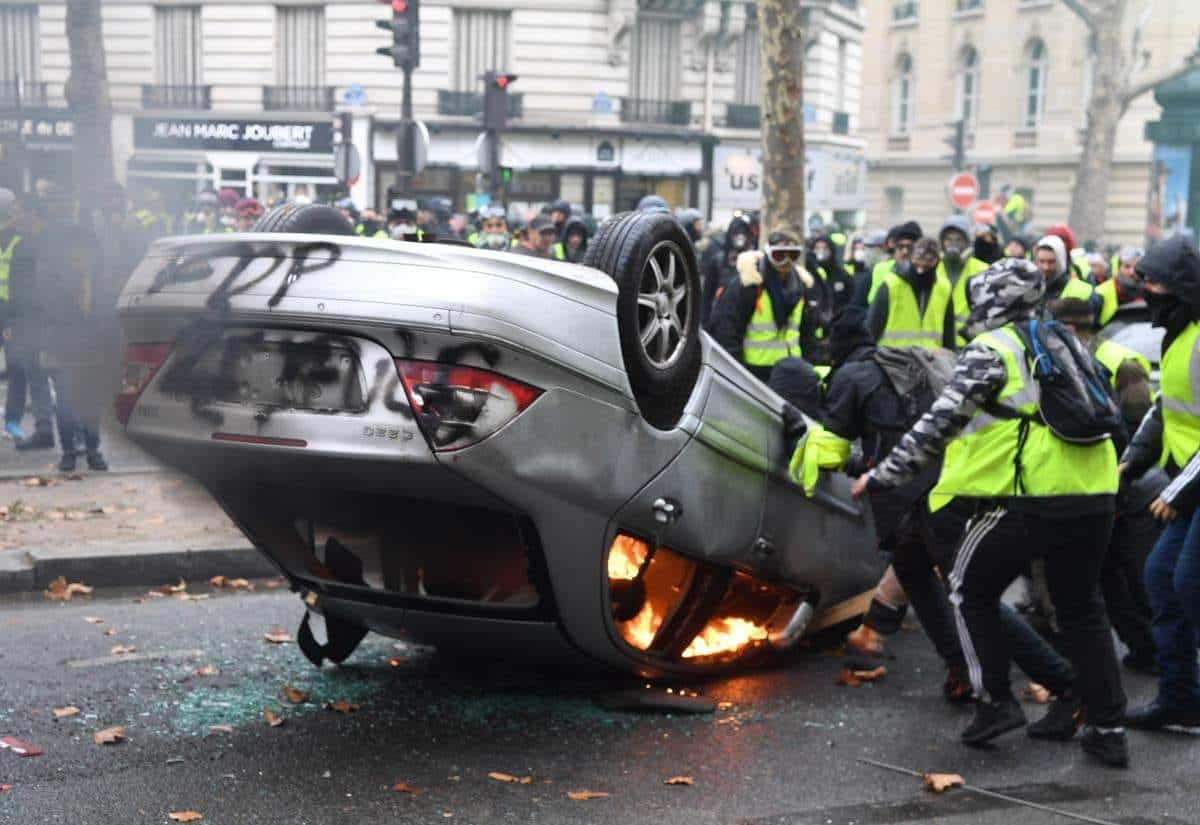 Source Photo: Page Facebook des Gilets Jaunes. Crédit DR