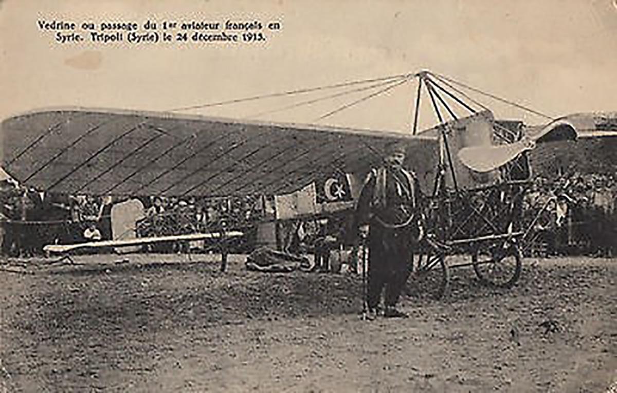 Jules Védrine à Tripoli au Liban en 1913