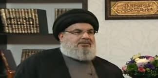 Le dirigeant du Hezbollah, Sayyed Hassan Nasrallah, interviewé ce samedi 26 janvier 2019 par la chaine Al Mayadeen