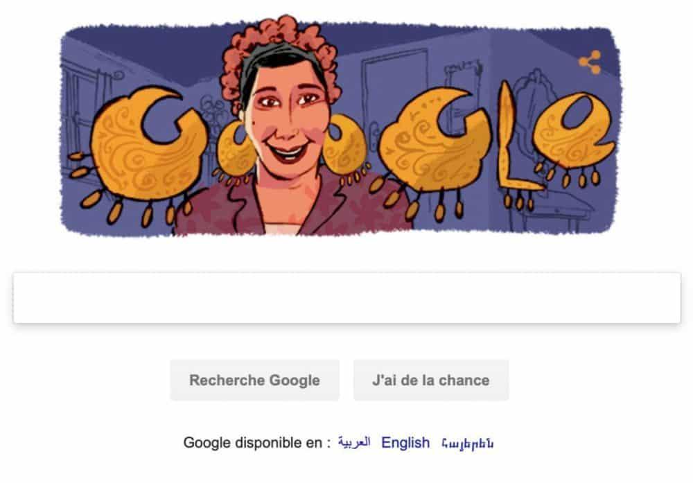 Doogle Marie Mounib (Capture d'écran)