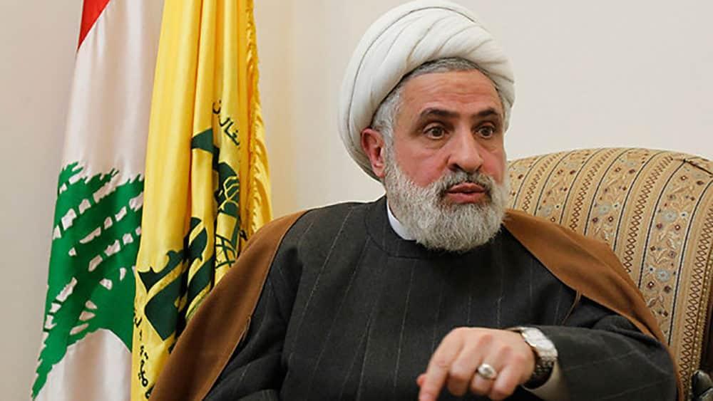 Le Numéro 2 du Hezbollah, le Cheikh Naïm Kassem.