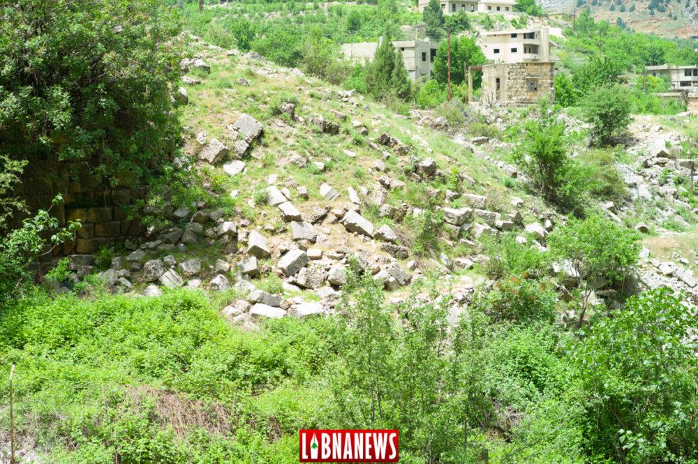 Les restes du temple d'Ishtar, détruit lors de la Christianisation du Liban et de la lutte contre le Paganisme.  Crédit Photo: François el Bacha pour Libnanews.com. Tous droits réservés.