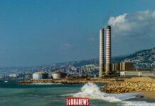La centrale électrique de Zouk Mosbeh, Liban. Crédit Photo: François el Bacha, pour Libnanews.com. Tous droits réservés.