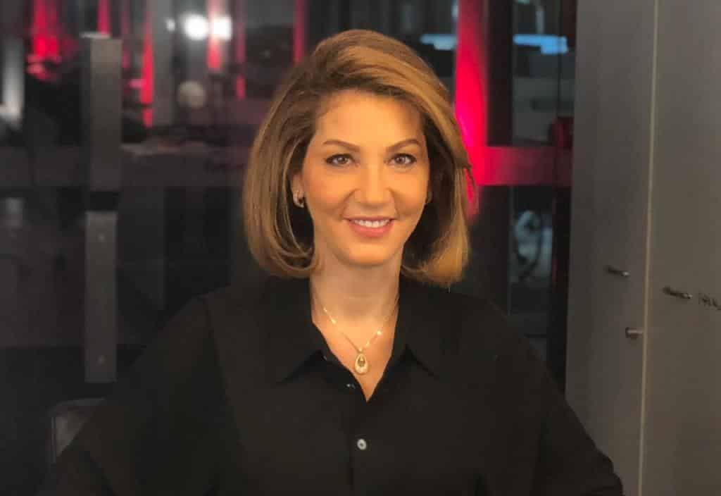 La député du Nord Liban Dima Jamali. Crédit Photo ANI