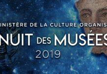 L'Affiche de la 6ème édition de la Nuit des Musées - 2019.