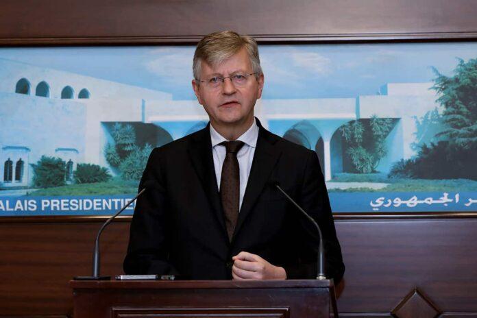 Jean-Pierre Lacroix, sous secrétaire de l'ONU en charge des opérations de maintien de la Paix. Crédit Photo: Dalati & Nohra
