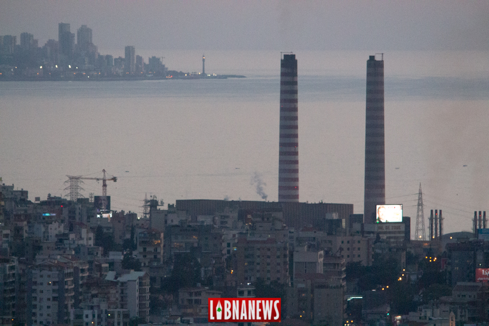 La Centrale de Zouk Mosbeh qui pourrait être fermée en cas d'adoption de ce plan de restructuration de la production d'électricité. Crédit Photo: Francois el Bacha, pour libnanews.com. Tous droits réservés, Beyrouth, Liban