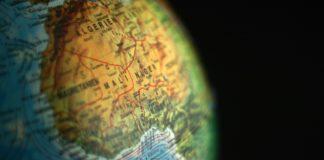 L'Algérie sur un globe. Source Photo: Pixabay