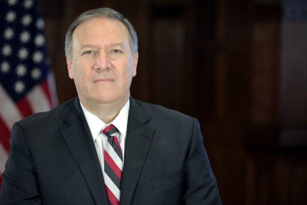 Le secrétaire d'état américain Mike Pompeo. Source Image: Wikipedia