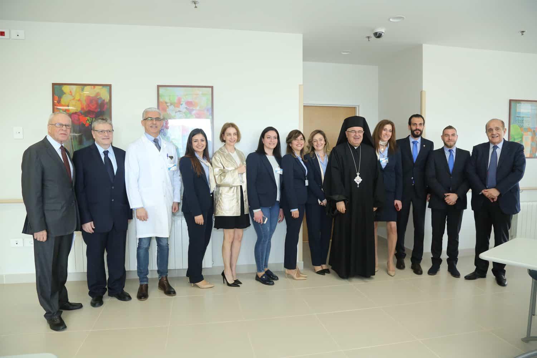 """Inauguration d'Oasis de Vie"""", un centre de convalescence pour le 3ème âge à Beyrouth"""