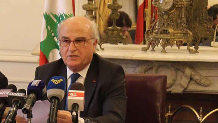 Le Président du conseil constitutionnel Issam Sleiman