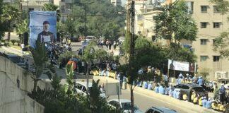Le transfert de la dépouille de l'ancien patriarche Nasrallah Boutros Sfeir, le mercredi 15 mai 2019.
