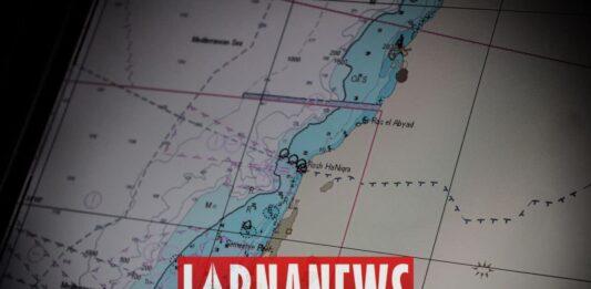 La carte de la zone revendiquée par le Liban et Israël. Crédit Photo: François el Bacha pour Libnanews.com. Tous droits réservés.