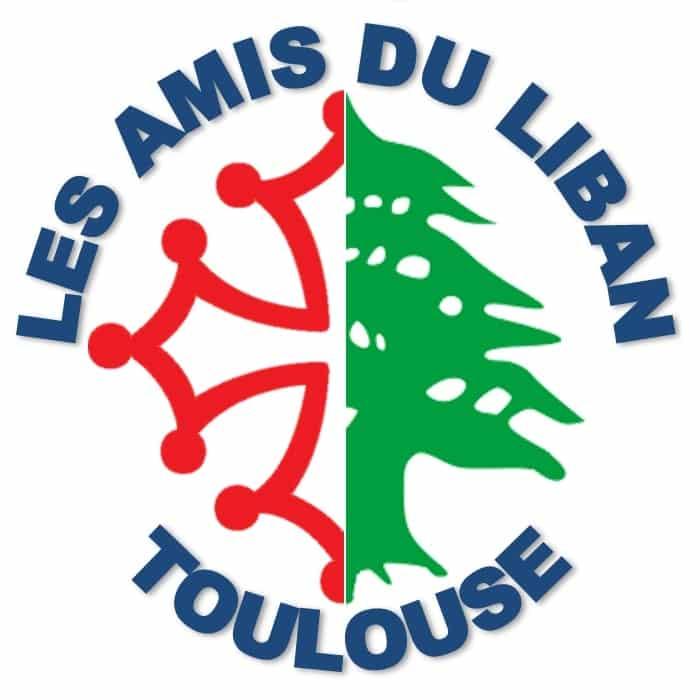 Le logo de l'association Les amis du Liban de Toulouse