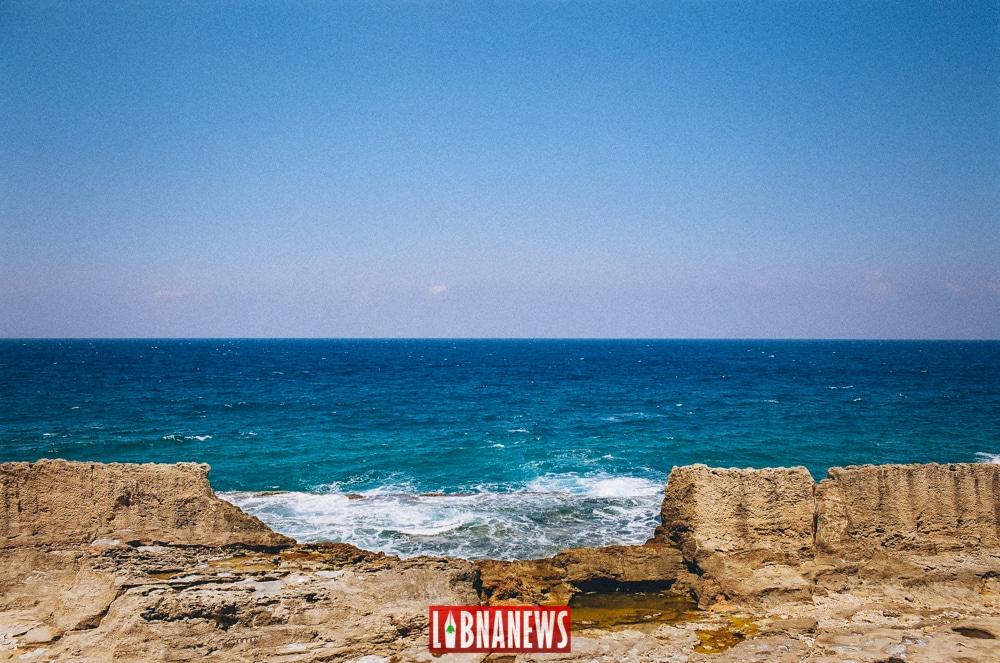 La petite crique de Batroun. Crédit Photo: François el Bacha pour Libnanews.com. Tous droits réservés.