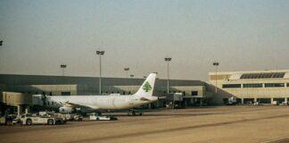 Un avion de la MEA à l'aéroport international de Beyrouth.
