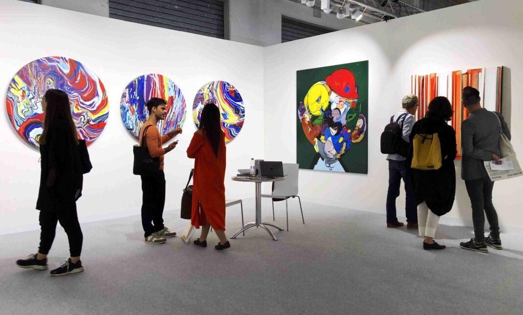 Artual Gallery at Volta International Art Fair 2019 (crédit photo Artual Gallery)